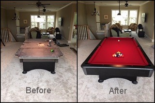 expert pool table recovering in Toms River content img3